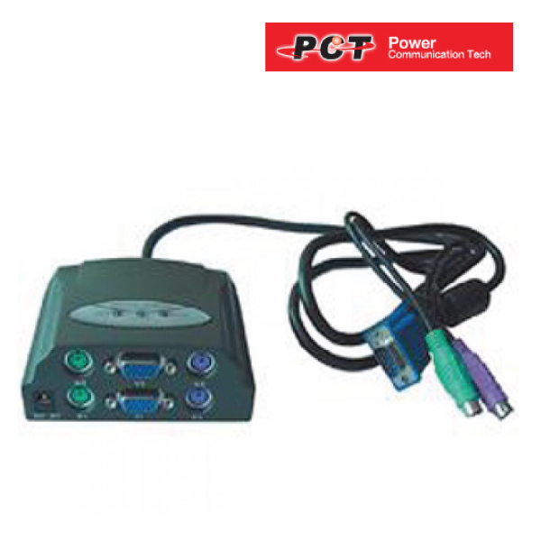 PCT PCT-MUS20200, 1 x 2 Users PC sharing device.