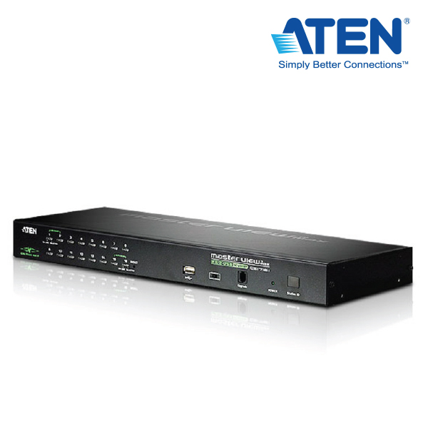 "Aten 16 Port PS/2-USB KVM on the NETâ""¢ With 1 Local/Remote User Access"