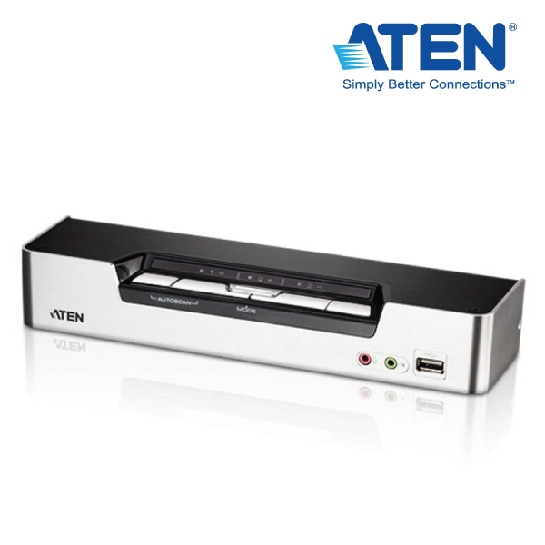 Aten CS1794C-AT-U 4 Port USB HDMI KVMP Switch with DOLBY Audio, USB Hub - Cables Included