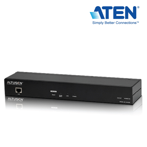 Aten 1-Port KVM and PDU Over IP w/Virtual Media and OOB