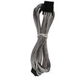BitFenix Sleeved 8-Pin EPS 12V Extension Cable for Motherboard , 45CM, SILVER/BLACK
