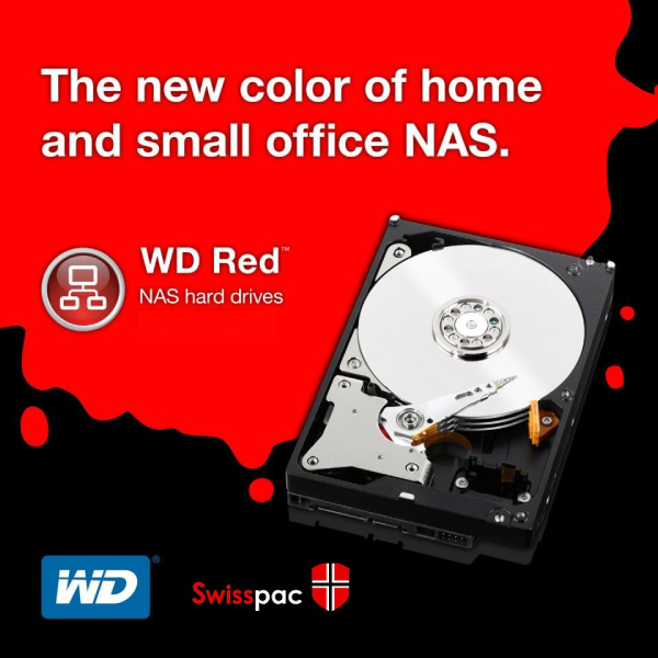 Western Digital RED WD20EFRX RED NAS- 2TB/INTELLIPOWER/DDR2/3.5