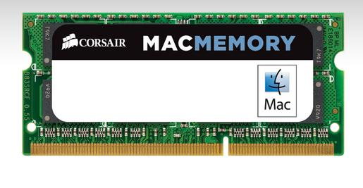 Corsair 4GB CMSA4GX3M1A1333C9 Mac Memory, 1333MHz CL9 DDR3 SO-DIMM for Apple iMac, MacBook and MacBo