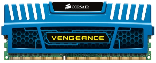 Corsair 8GB (2x4GB) CMZ8GX3M2A1600C9B DDR3 1600MHz CL9 Unbuffered DIMM Memory for AMD, Intel Dual Ch