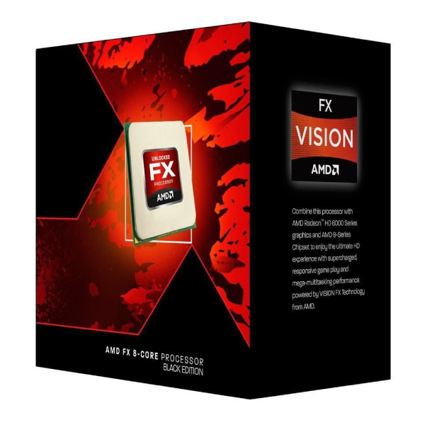AMD FX-8320 Black Edition 8-Core Socket AM3+ CPU Processor