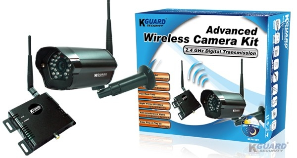 KGUARD WLP614M1 2.4GHz MPEG4 wireless camera kit