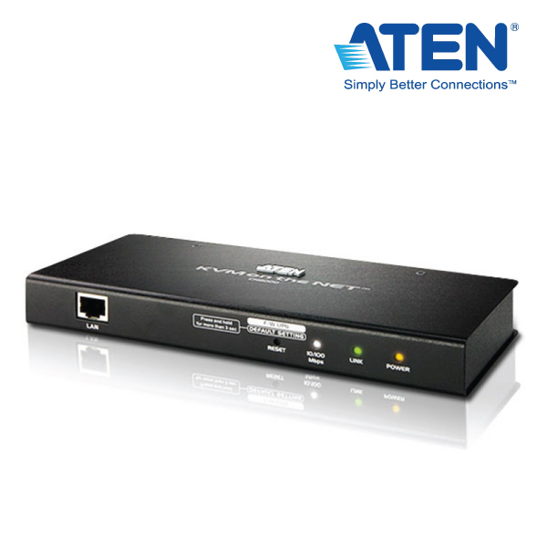 Aten CN-8000 1-Port KVM Over IP w/Virtual Media and Out of Band