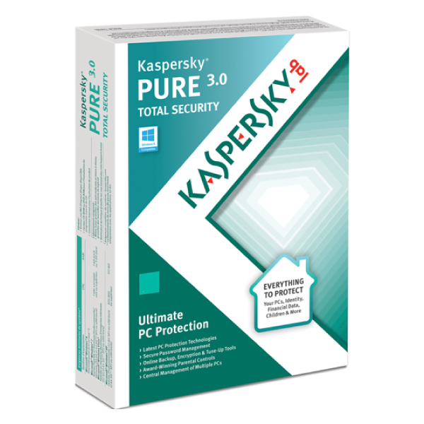 Kaspersky Pure 3.0 Total Security Retail Single user
