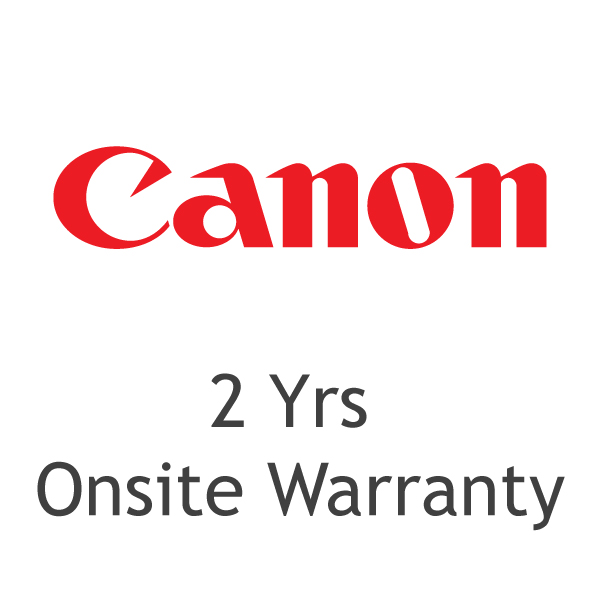 Canon 2 Years Onsite Warranty for Laser Printers