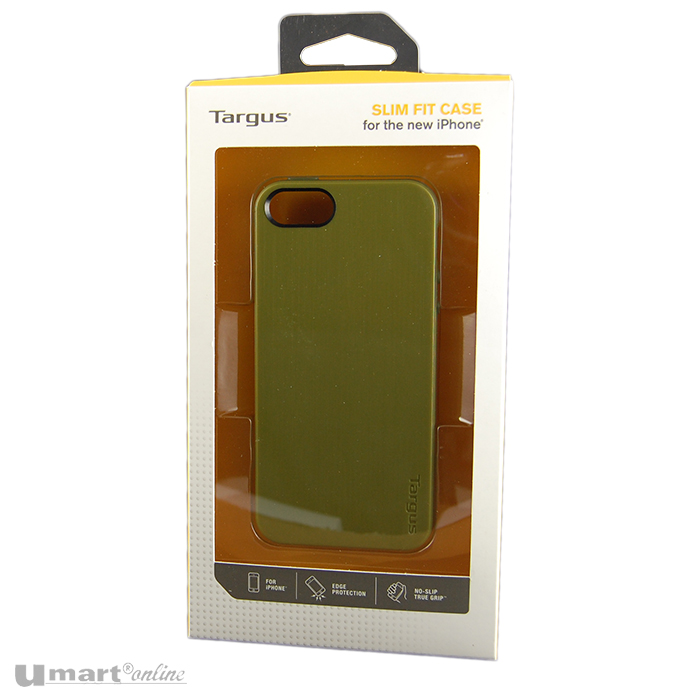 Targus Slim Fit Case for iPhone 5 GREEN True Grip Edge Protection