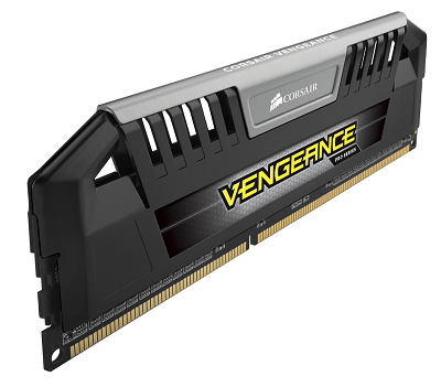 Corsair 16GB (2x8GB) DDR3 1600MHz Dimm, Unbuffered, 9-9-9-24, Vengeance Pro Black Heatspreader, Supp