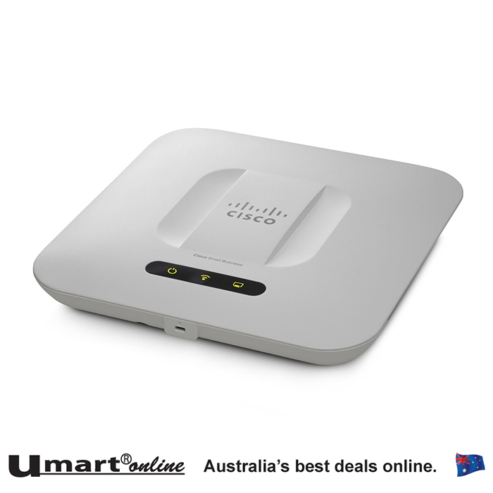 Cisco WAP561-A-K9 Dual Radio 450Mbps Access Point with PoE (FCC) 802.11n