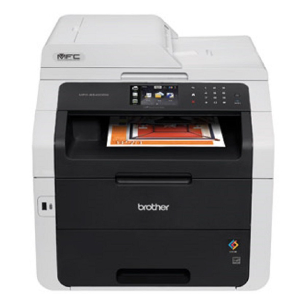 Brother MFC-9340CDW Duplex Wireless Colour Laser MFC Printer