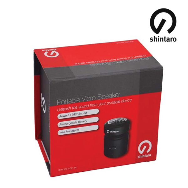 Shintaro Wireless Portable Vibro Speaker 12W