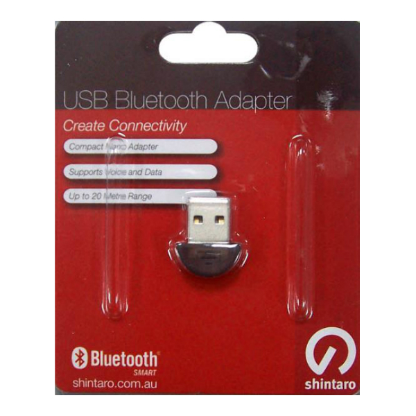 Shintaro USB Bluetooth 4.0 Adapter