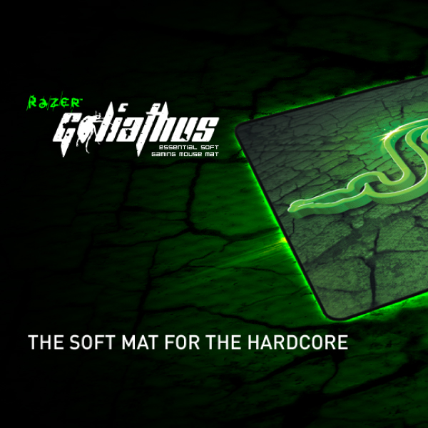 Razer Goliathus 2013 SOFT Gaming Mouse Mat Small 270mmx215mm- Control Version