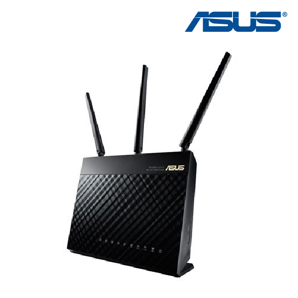 Asus RT-AC68U 802.11ac Dual-Band Wireless-AC1900 Gigabit Router