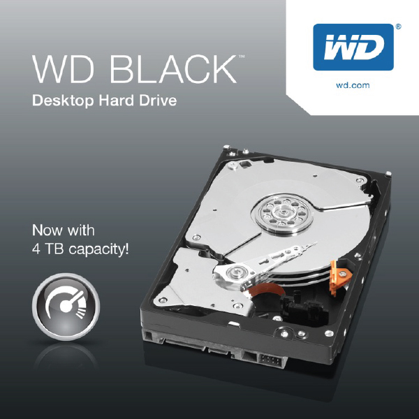 Western Digital Black WD1003FZEX 1 TB 6 Gb/s / 3.5-inch / SATA /7200 RPM / 64 MB