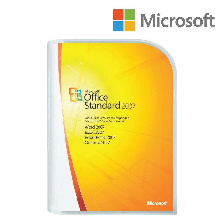 Microsoft Office Standard 2007  Retail Pack