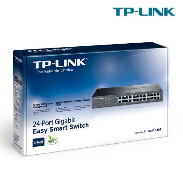 TP-Link TL-SG1024DE 24  Port Gigabit Easy Smart Switch