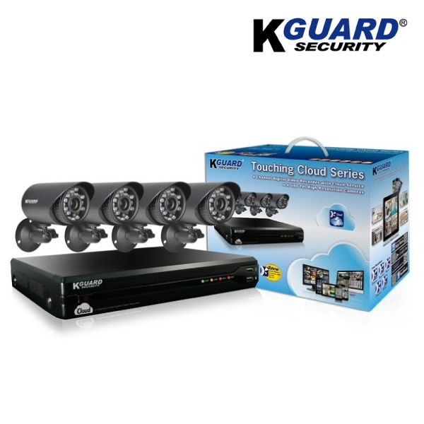 KGUARD TC401-4C500G 4 Channel Cloud DVR
