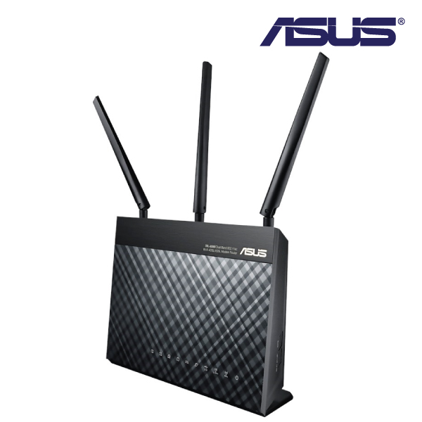 Asus DSL-AC68U Dual Band Wireless AC 1900 Gigabit ADSL/VDSL Modem