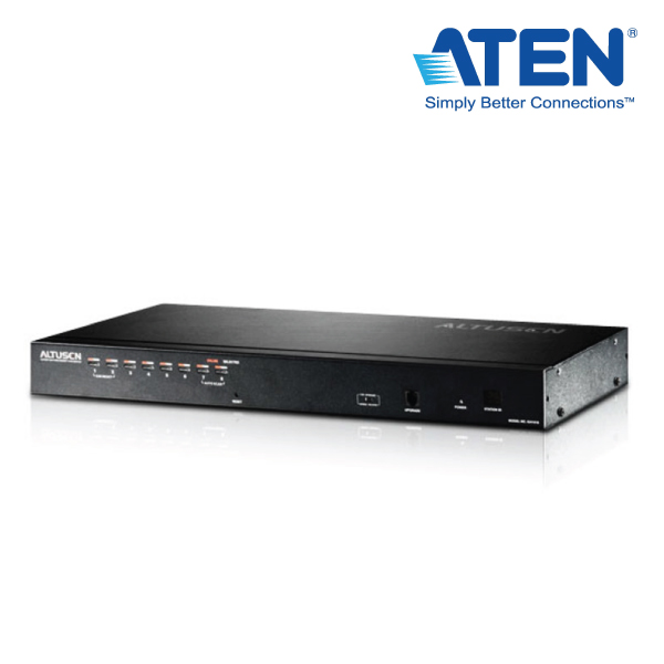 Aten Altusen KH1508 8 Port Rackmount USB-PS/2 Cat5 KVM Switch with Daisy Chain