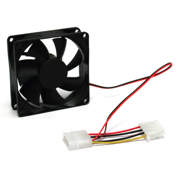 Generic 80mm 4 pin case Fan for Power Supply