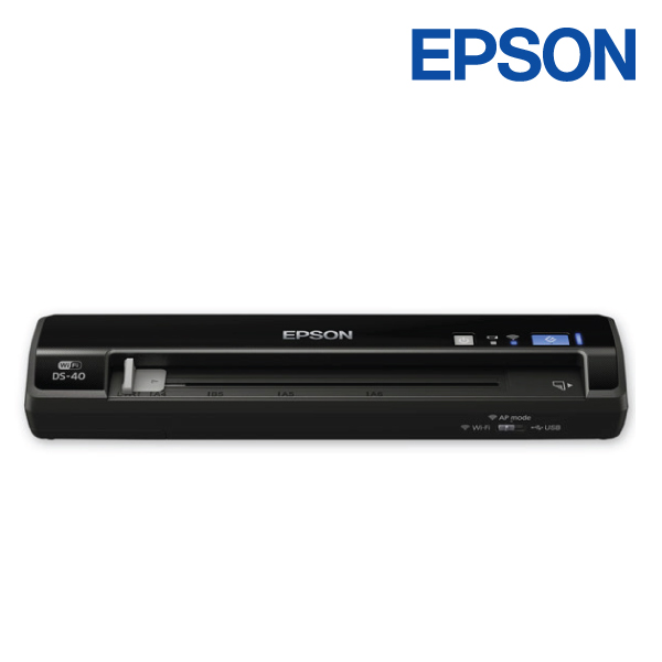Epson WorkForce DS40 Protable A4 Col Document 600DPI RES Scanner