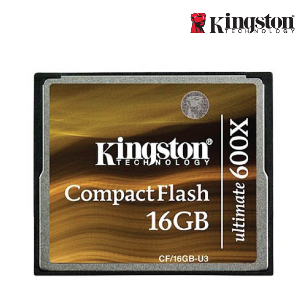 Kingston 16GB Ultimate CompactFlash 600x with Recovery software