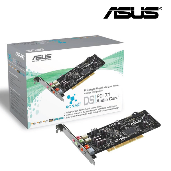 Asus Xonar DS PCI 7.1 DTS LowProfile