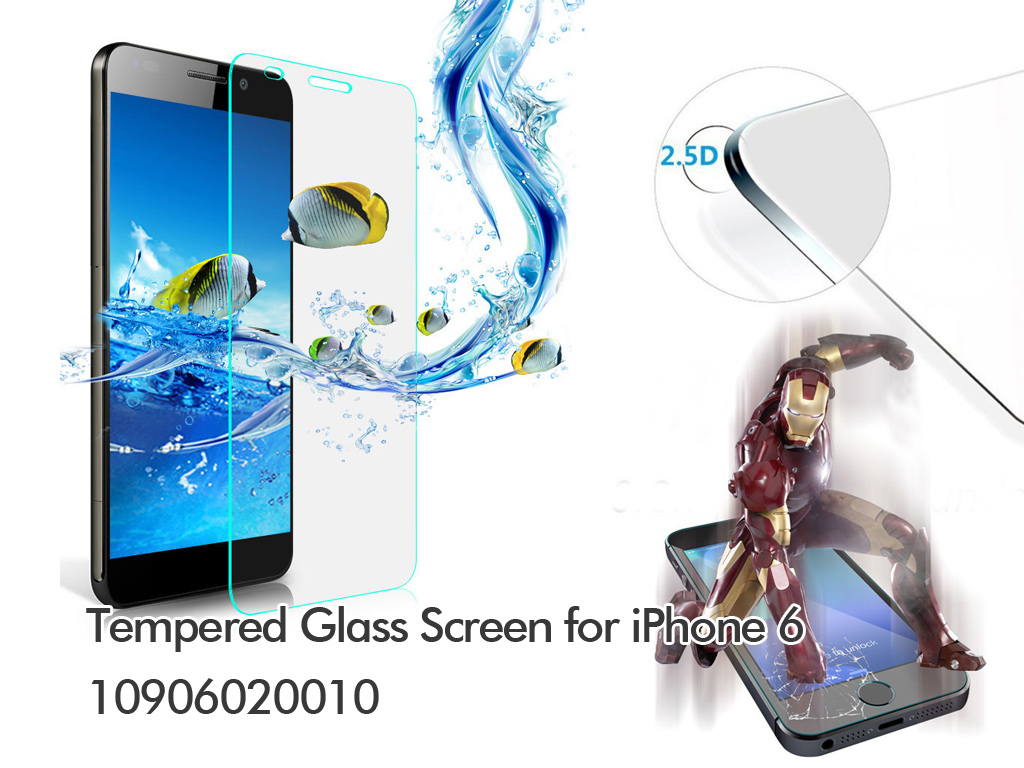 Tempered Glass Screen for iPhone 6