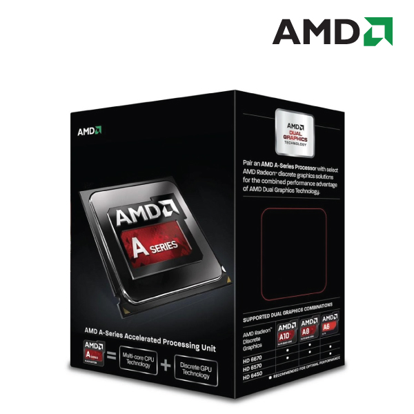 AMD A4-7300 2-Core Socket FM2 4.0GHz APU Processor
