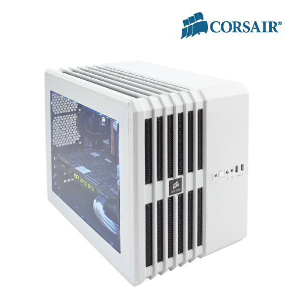 Corsair Carbide Series AIR 240 White mini Cube Case - support Mini-ITX and MicroATX Motherboard