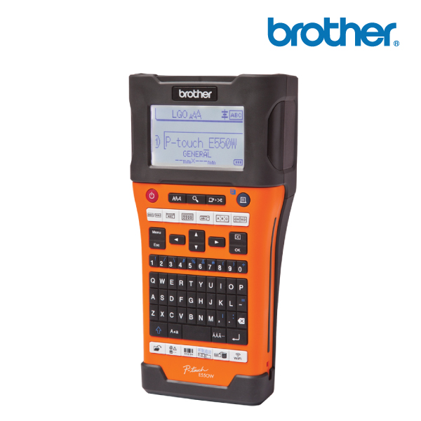 Brother PT-E550WVP Industrial Labelling Machine FOR ELECTRICAL/DATACOM w WLESS Connection
