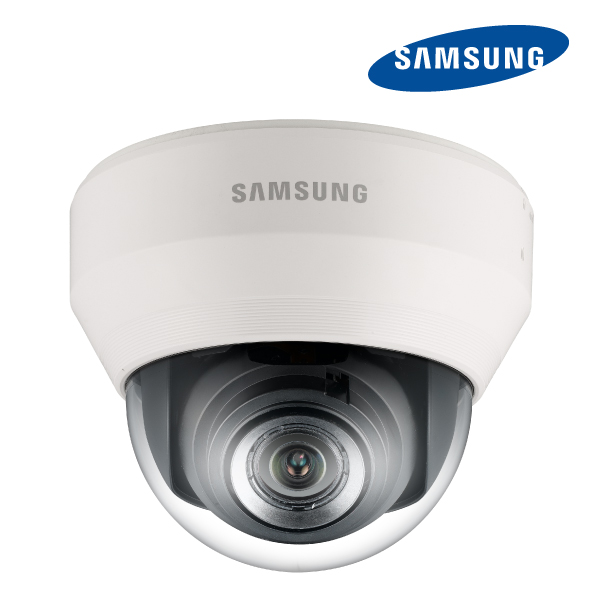 Samsung 3.2MP ICR Indoor Dome IP Camera 12VDC PoE H.264 Multi stream 3-8.5mm with WDR