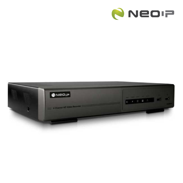 NEOip 4CH Plug & Play FULL HD NVR with push video 1TB HDD