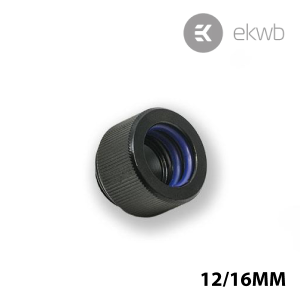EK HD 12/16mm Adapter Black