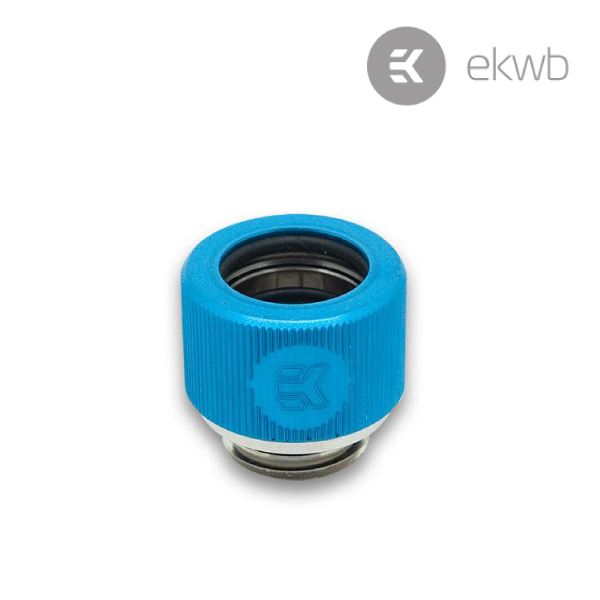 EK HDC Fitting 12mm G1/4 Blue