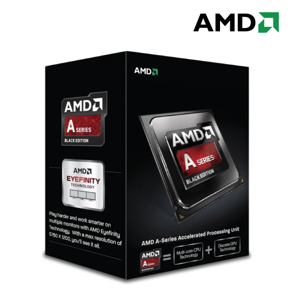 AMD A8-7650K 4-Core Socket FM2+ 3.3GHz APU Processor