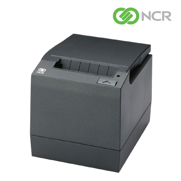NCR Receipt Printer, RS232/USB Dual Interface, Charcoal