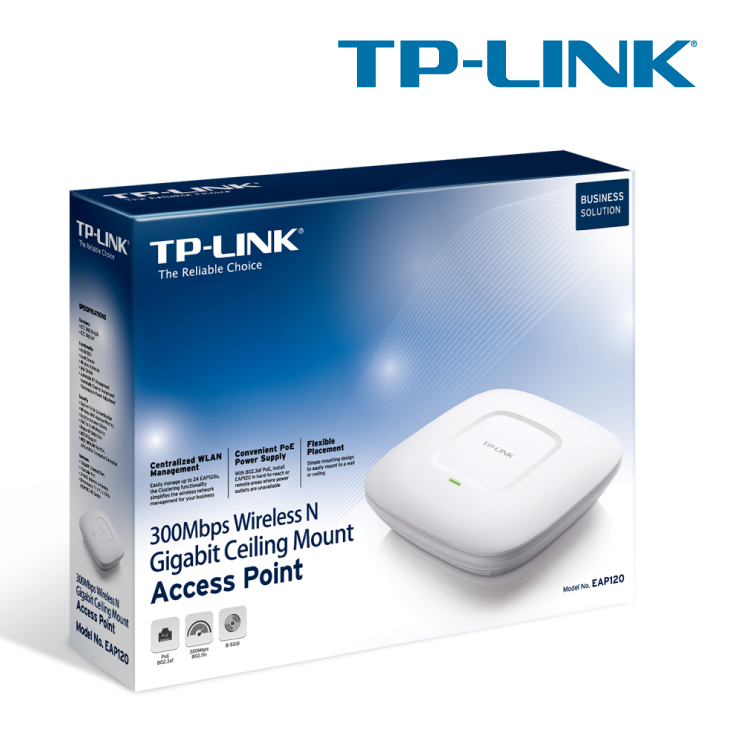 TP-LINK EAP120 300Mbps Wireless N Access Point