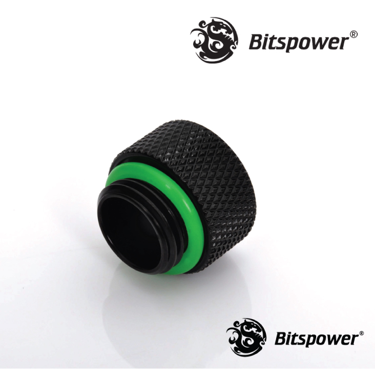 Bitspower Matte Black G1/4 Multi-Link Adapter
