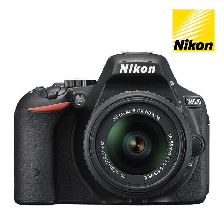 Nikon D5500 DSLR Camera 18-55mm VRII Single Lens Kit