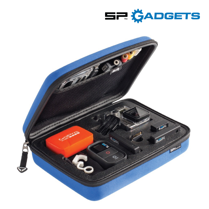 GoPro SP Gadgets Case Small 3.0 blue