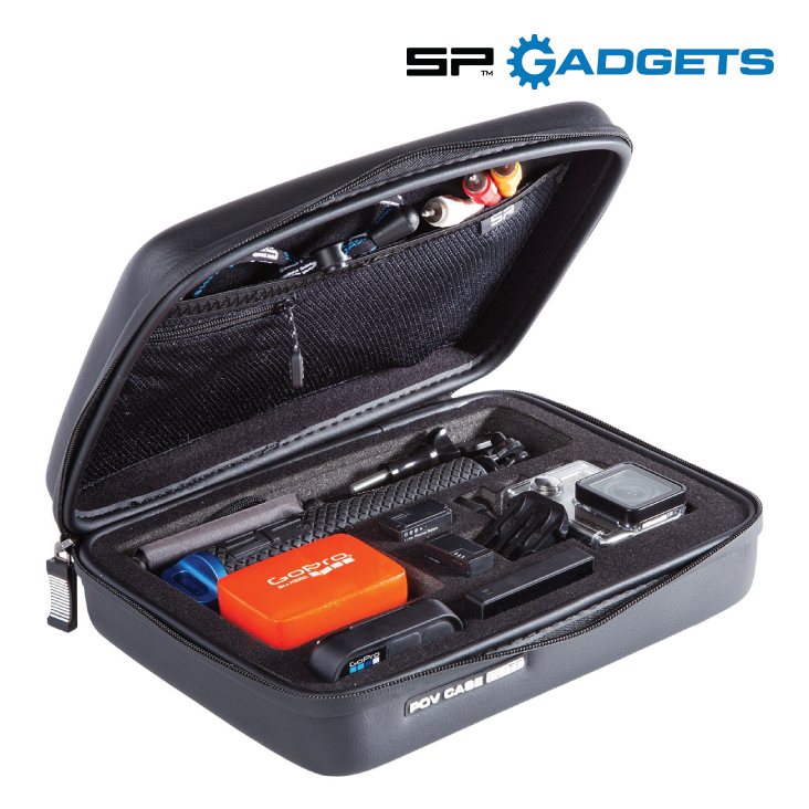 GoPro SP Gadgets Case Medium ELITE black