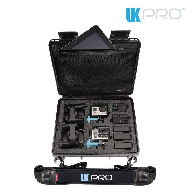 GoPro UKPro POV40 waterproof Hard Case Black