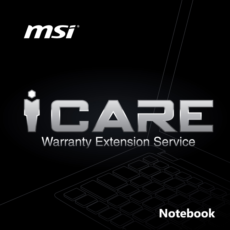 MSI Notebook 1 Year Warranty Extension for GT/GS