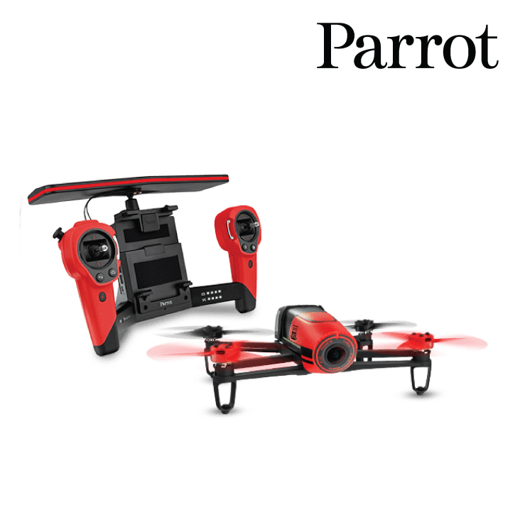 Parrot Bebop Drone with SkyController (Red)