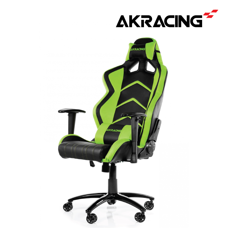 AKRacing Player Series Office/Gaming Chair Black/Green
